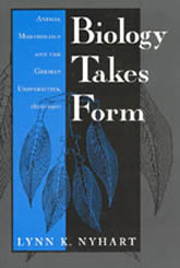 Book Cover: Biology Takes Form