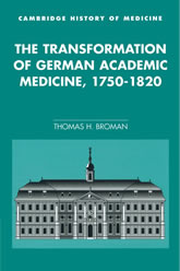 Book Cover: The Transformation of German Academis Medicine