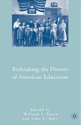 Book Cover: Rethinking History of American Education