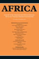 Bookcover - Africa