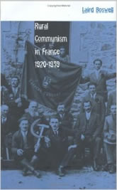 Bookcover - Rural Communism in France, 1920-1939