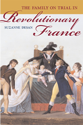 Bookcover - The Family on Trial in Revolutionary France