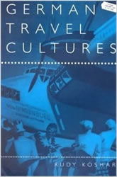 Bookcover - German Travel Cultures