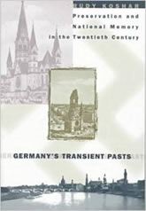 Bookcover - Germany's Transient Pasts: