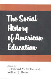 Bookcover - The Social History of American Education