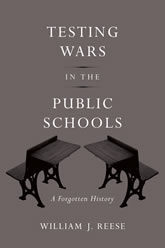 Bookcover - Testing Wars in the Public Schools: A Forgotten History