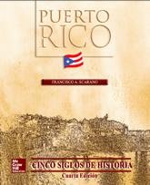 Bookcover - Puerto Rico: Cinco siglos de historia