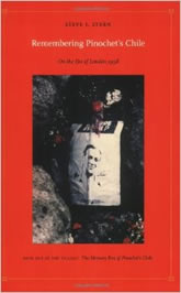 Bookcover - Remembering Pinochet's Chile: On the Eve of London 1998