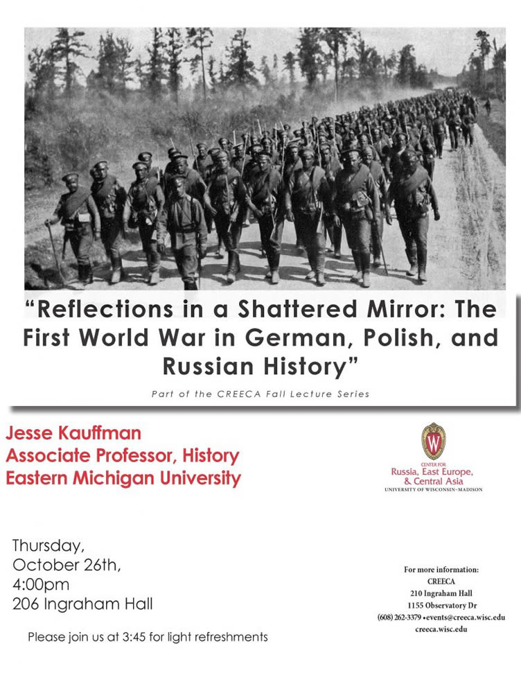 Event Poster: Jesse Kauffman