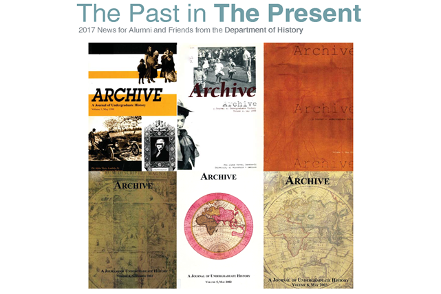History Newsletter Cover