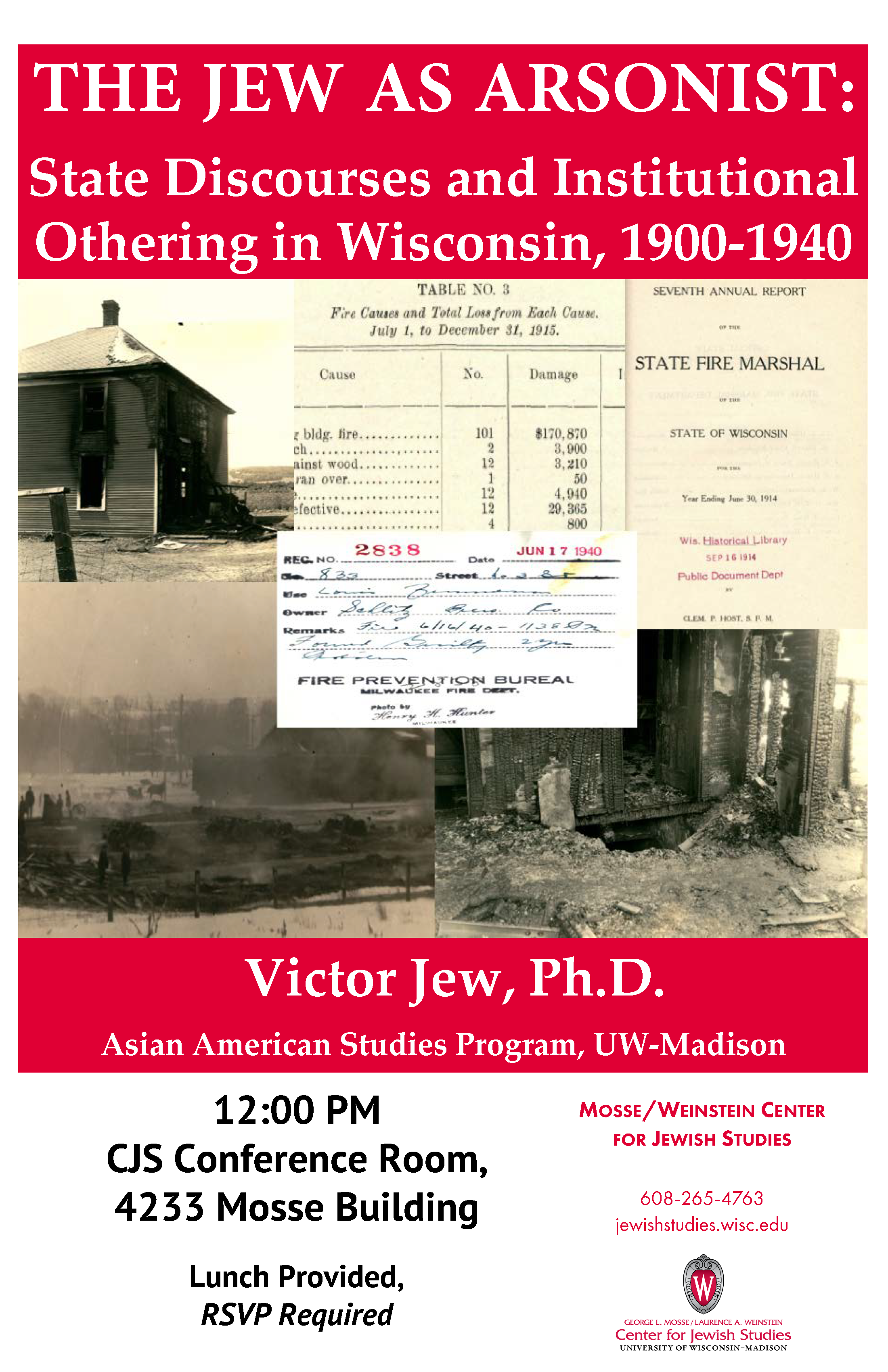 Event Poster: Victor Jew