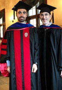 David Bresnahan with Prof. Neil Kodesh
