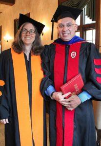 Benjamin Raiklin with Prof. Francine Hirsch