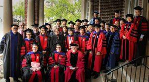 Graduates and Advisors